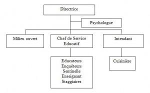 Organisation JOS Kin 2014T3
